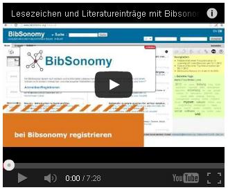 """""""Das Praxisbüro im Fachbereich 11 der Universität Bremen, Human- und Gesundheitswissenschaften, bietet zwei Screencasts zur Nutzung von BibSonomy an."""""""