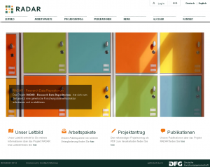 RADAR - Research Data Repositorium