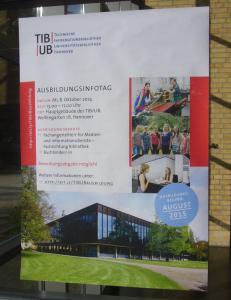 Plakat Ausbildungsinfotag