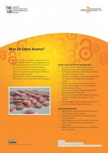 Poster als PDF: Was ist Open Access?