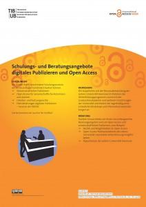 Poster als PDF: Schulungs- und Beratungsangebote