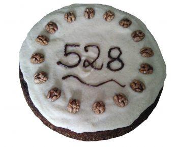 Als das Team des Repositoriums zum Feiern kam, waren es allerdings schon 528 Veröffentlichungen ;-)
