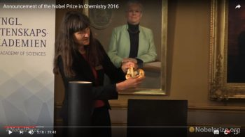 Announcement of the Nobel Prize in Chemistry 2016