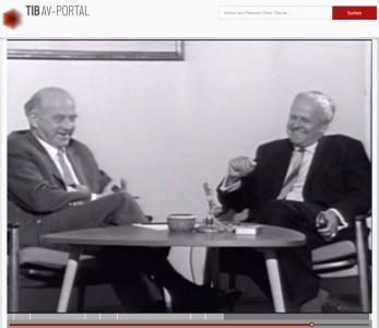 Heisenberg und Weizsäcker im Gespräch