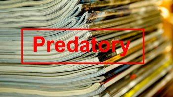 Permalink auf:Predatory Publishing