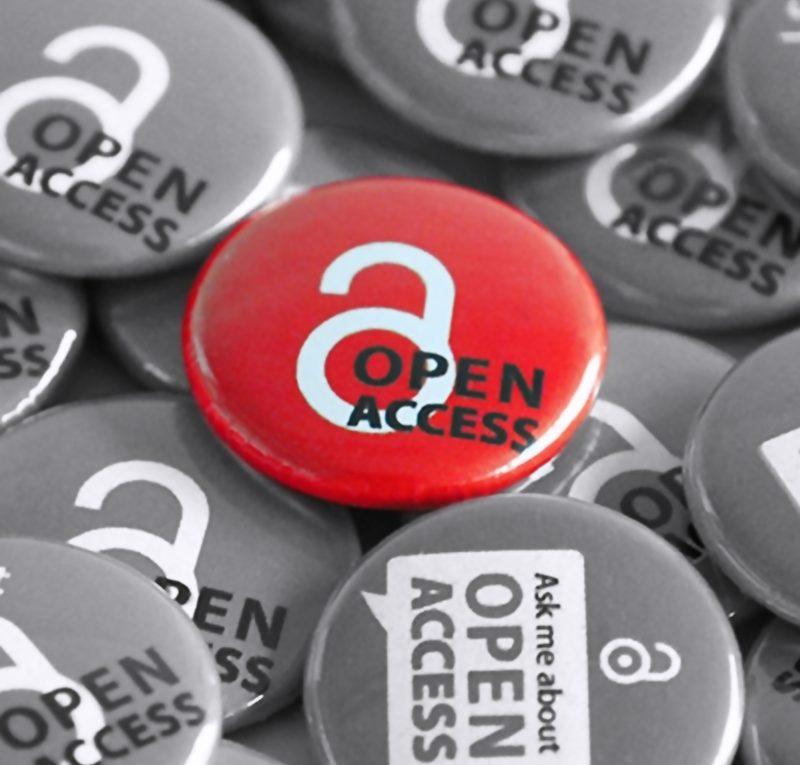 Einige Buttons mit Open-Access-Logo