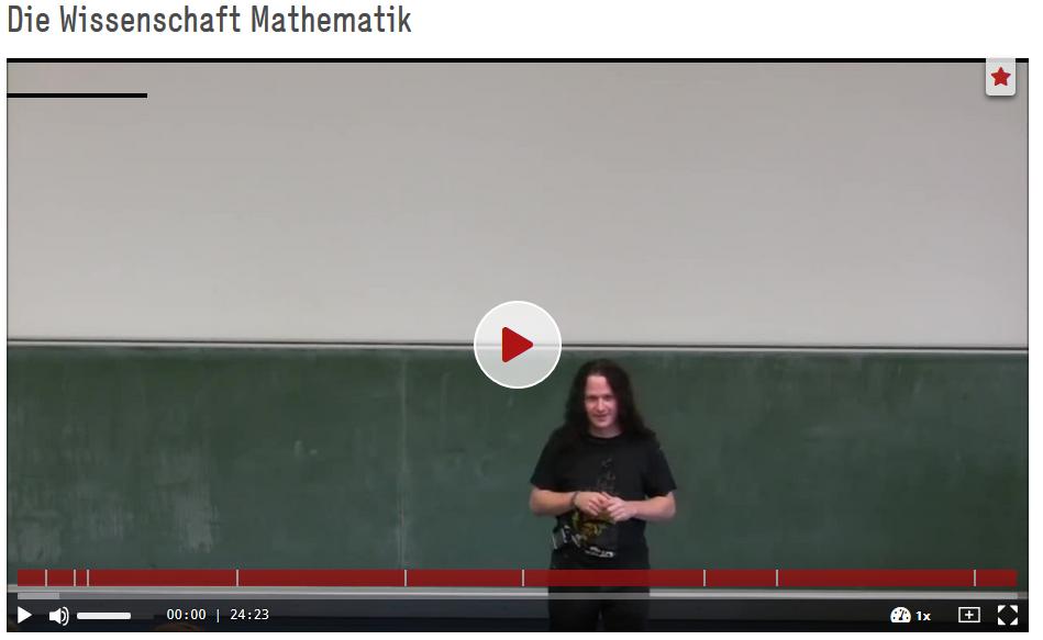 Spannagel, Christian (2012): Die Wissenschaft Mathematik. https://doi.org/10.5446/19908